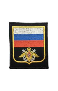 Шеврон Флаг РФ орёл ВМФ