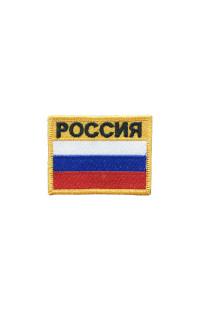 """Шеврон """"Флаг РФ"""" (7*5)"""
