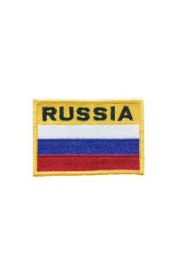 """Шеврон """"Флаг Russia"""" (8*6)"""