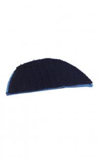 0502 Шеврон Дуга триколор синий на контактной ленте