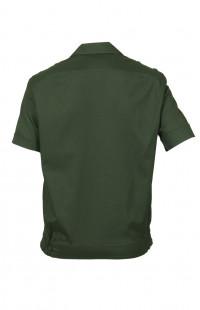 Сорочка форменная с коротким рукавом зеленый