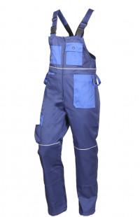Костюм рабочий со светоотражающими элементами для защиты от ОПЗ смесовая синий