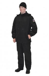 Куртка демисезонная черная
