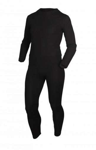 Термобелье мужское SILVER PINQUIN полипропилен черный