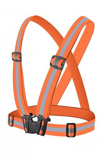 Ремень сигнальный с наплечными лямками (СОП оранжевый)
