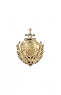 Эмблема МВД петличная золотая